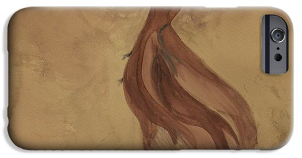 Watercolor iPhone Cases - Sweet Heavenly iPhone Case by  The Art Of Marilyn Ridoutt-Greene