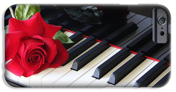 Piano iPhone Cases - Sweet Melodies iPhone Case by Susan Pantuso
