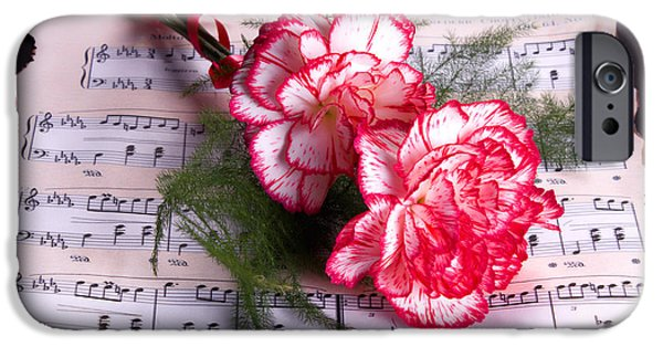 Sheets iPhone Cases - Sweet Music iPhone Case by TN Fairey