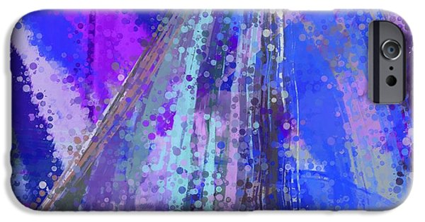 Abstract Digital Tapestries - Textiles iPhone Cases - Sweet Sailing Dreams iPhone Case by Suzi Freeman
