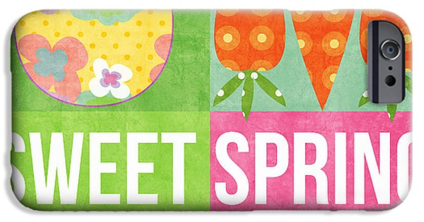 Spring iPhone Cases - Sweet Spring iPhone Case by Linda Woods