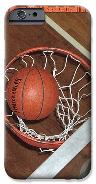 Swish iPhone Case by Mike Martin
