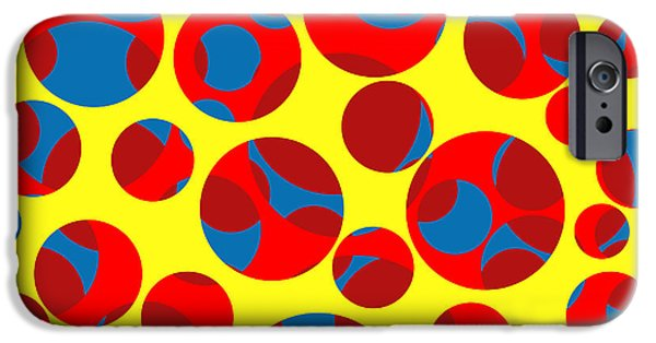 Cut-outs iPhone Cases - Swiss cheese iPhone Case by Gaspar Avila