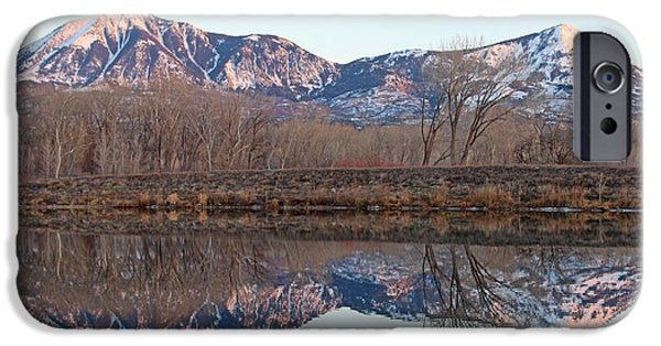 West Fork iPhone Cases - Symmetry At Sunset  iPhone Case by Dale Jackson