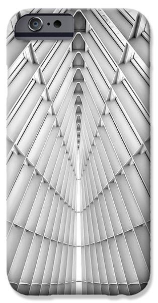 Black And White Photograph iPhone Cases - Symmetry iPhone Case by Scott Norris
