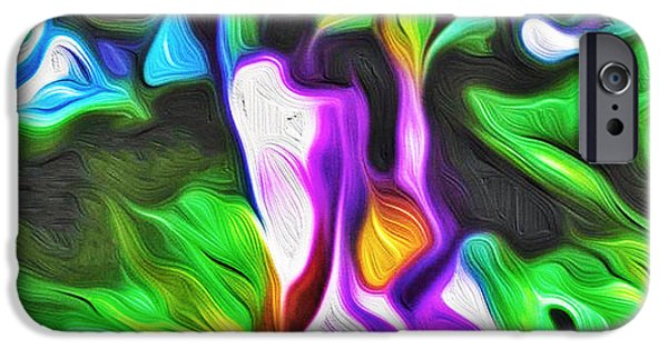 Abstract Digital iPhone Cases - Symphony iPhone Case by Prakash Ghai