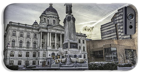 Montgomery iPhone Cases - Syracuse Courthouse iPhone Case by Everet Regal