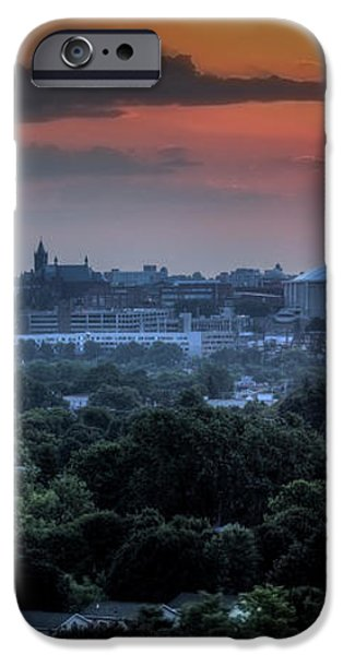 Syracuse Sunrise iPhone Case by Everet Regal