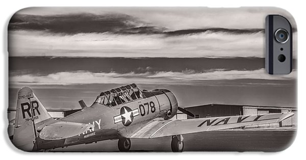 Weapon iPhone Cases - T-6 Texan Trainer 2 v3 iPhone Case by F Leblanc