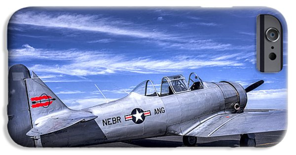 Weapon iPhone Cases - T-6 Texan Trainer iPhone Case by F Leblanc