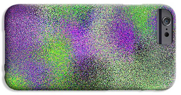 Abstract Digital iPhone Cases - T.1.757.48.3x1.5120x1706 iPhone Case by Gareth Lewis
