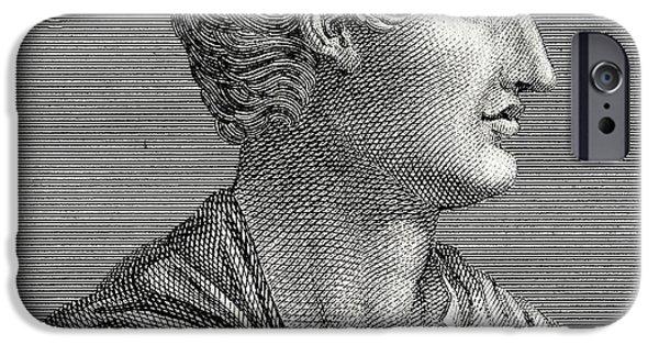 Orator iPhone Cases - Tacitus, Roman Senator And Historian iPhone Case by Chris Hellier