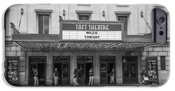 Taft iPhone Cases - Taft Theatre Cincinnati Ohio iPhone Case by John McGraw