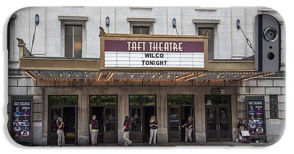 Taft iPhone Cases - Taft Theatre in Cincinnati  iPhone Case by John McGraw