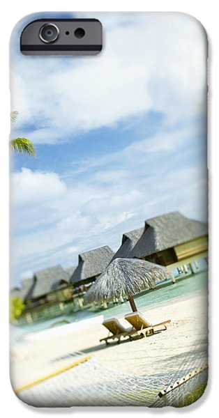 Tahiti, Bora Bora iPhone Case by Kyle Rothenborg - Printscapes