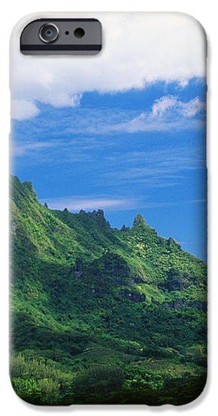 Tahiti, Moorea iPhone Case by Vince Cavataio - Printscapes