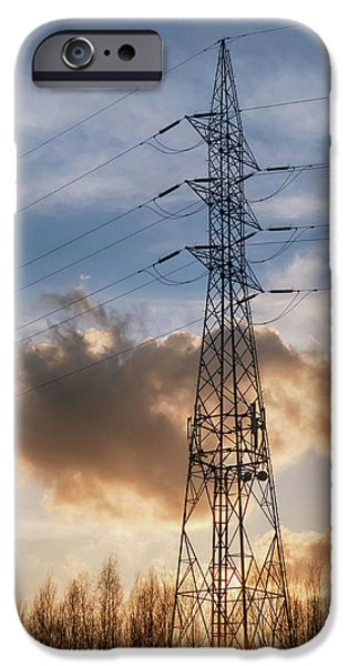 Electrical iPhone Cases - Take a Break iPhone Case by Wim Lanclus