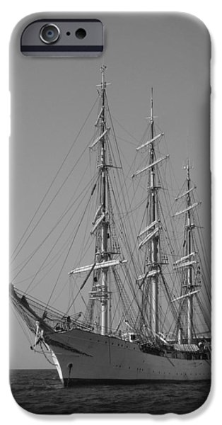 Denmark iPhone Cases - Tall Ship Denmark  iPhone Case by Dustin K Ryan