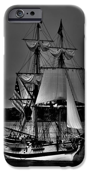 Pirate Ships iPhone Cases - Tall Ships in Tacoma 2 iPhone Case by David Patterson