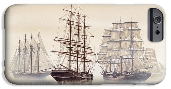 Tall Ship iPhone Cases - Tall Ships iPhone Case by James Williamson
