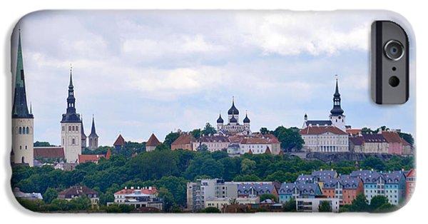 Tallinn iPhone Cases - Tallinn Estonia. iPhone Case by Terence Davis