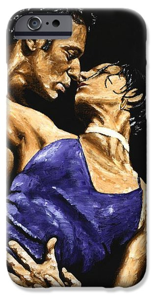 Couple iPhone Cases - Tango Heat iPhone Case by Richard Young