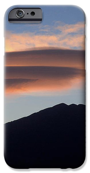 Taos Sunset iPhone Case by Jerry McElroy