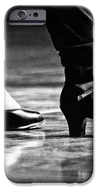 Tap Shoes iPhone Case by Lauri Novak