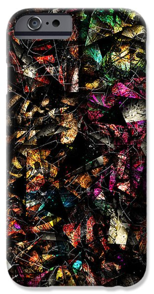 Colorful Abstract iPhone Cases - Tapestry  iPhone Case by Gary Bodnar