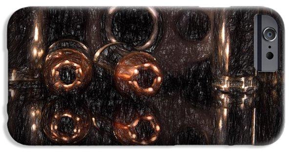 Law Enforcement iPhone Cases - Taurus Reflection iPhone Case by Doug DeLong