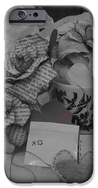 Diy iPhone Cases - Teatime Wishes iPhone Case by Snowbirde Silvetti