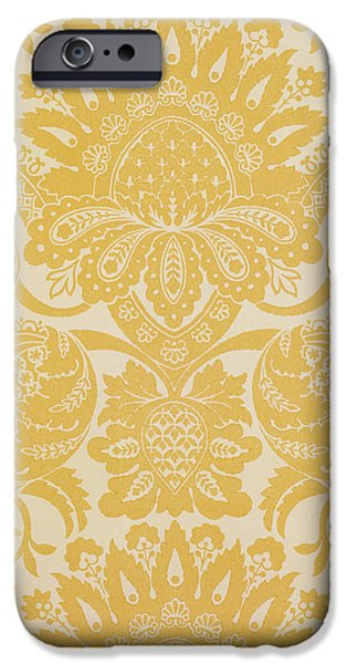Florals Tapestries - Textiles iPhone Cases - Temple Newsam iPhone Case by Cole and Sons