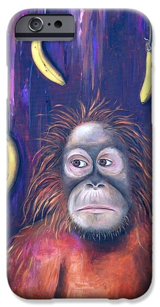 Temptation iPhone Case by Leah Saulnier The Painting Maniac