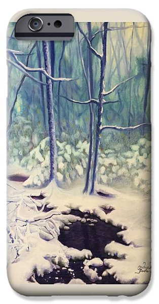 Recently Sold -  - Creek iPhone Cases - Ten To Twelve Inches iPhone Case by Andrea Parks