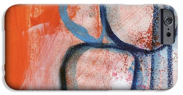 Fine Abstract Mixed Media iPhone Cases - Tender Mercies iPhone Case by Linda Woods