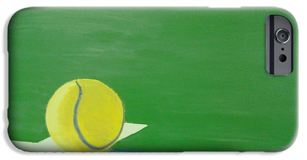 Best Sellers -  - French Open iPhone Cases - Tennis Reflections iPhone Case by Ken Pursley