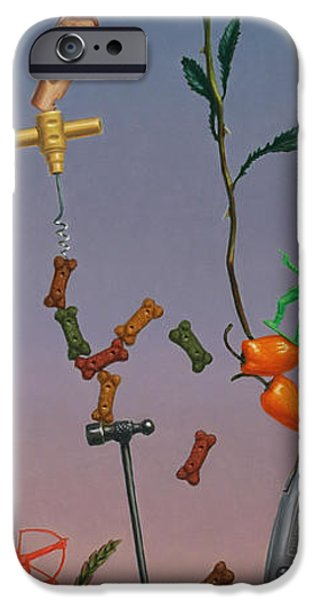 Boxes iPhone Cases - Tenuous Still-Life 3 iPhone Case by James W Johnson