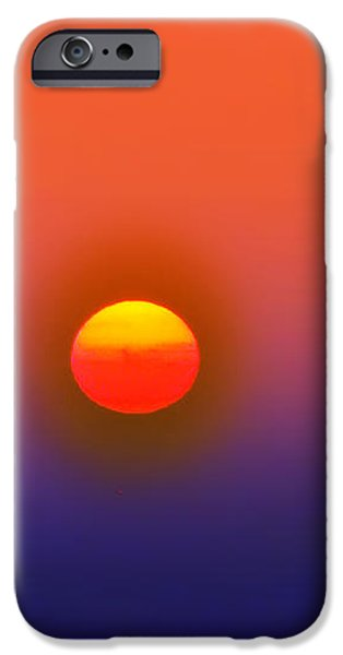 Tequila Sunrise iPhone Case by Bill Cannon