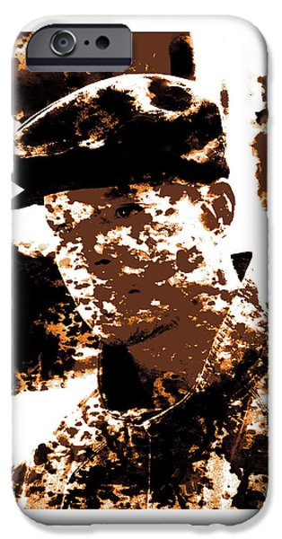 Disorder Mixed Media iPhone Cases - Terrence Howard 1b iPhone Case by Brian Reaves