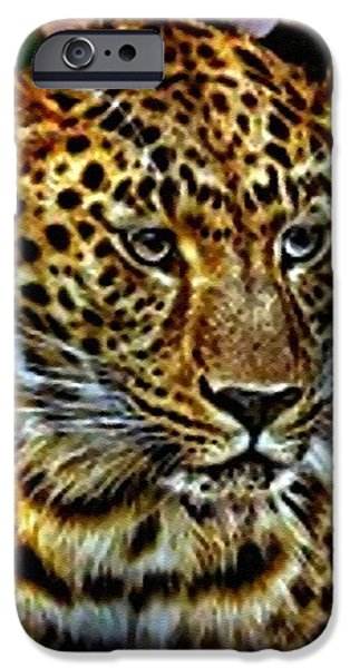 Concept Pastels iPhone Cases - Terry V b iPhone Case by Gert J Rheeders
