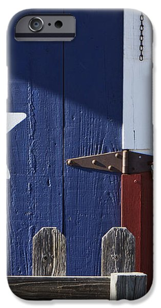 Texas Flag Painted on a House iPhone Case by Jeremy Woodhouse