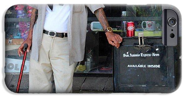 Senior Men iPhone Cases - Texas Hot iPhone Case by Joe Jake Pratt