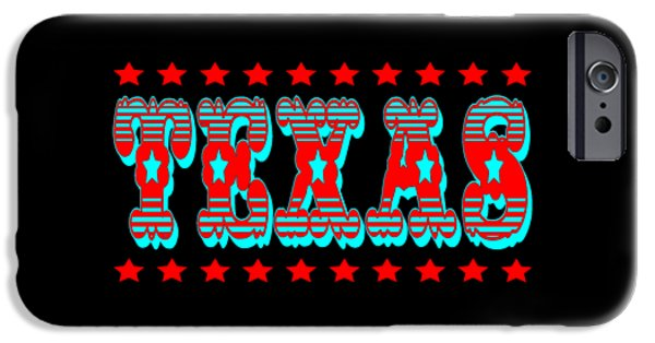 Universities Tapestries - Textiles iPhone Cases - Texas iPhone Case by Art America - Art Prints - Posters - Fine Art