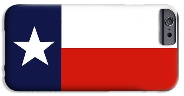 1839 iPhone Cases - Texas:lone Star Flag, 1839 iPhone Case by Granger
