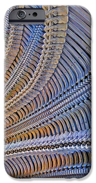 Furniture iPhone Cases - Texture. H.R. Giger.  iPhone Case by Andy Za