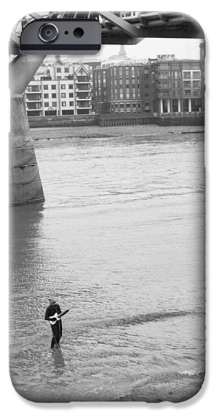 The White House Photographs iPhone Cases - Thames Serenade iPhone Case by Wendy Le Ber