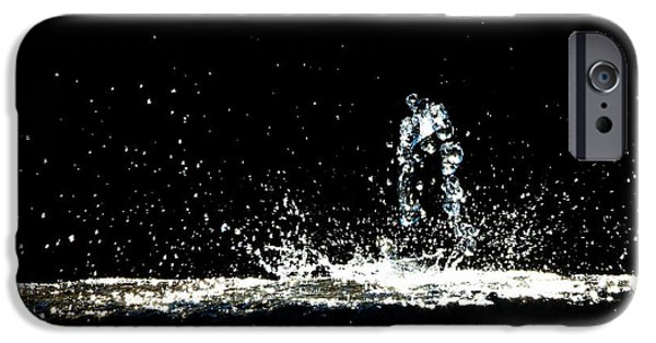 Dreamscape iPhone Cases - That falls like tears from on high iPhone Case by Bob Orsillo