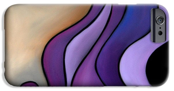Abstract Pop Drawings iPhone Cases - That Good Night iPhone Case by Tom Fedro - Fidostudio