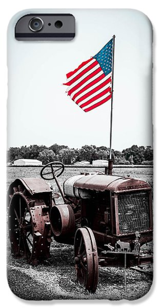 Flag iPhone Cases - The 4th is Close iPhone Case by Michael Horst