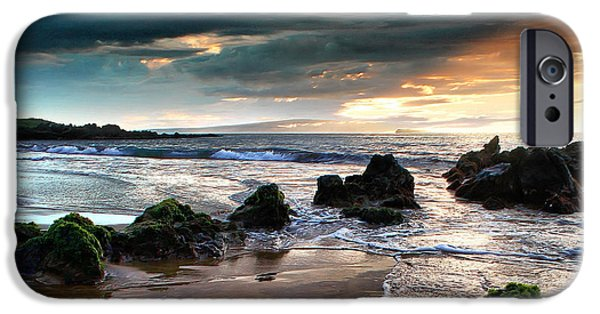 Ocean Sunset iPhone Cases - The Absolute iPhone Case by Sharon Mau